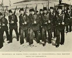 Ottoman Navy Soldiers During Gallipoli War