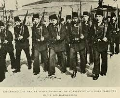 Ottoman Navy Soldiers During Gallipoli War