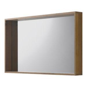 Miroir chêne massif COOKE & LEWIS Harmon 140 cm | Castorama
