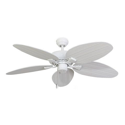 52-Inch Islamorada White Ceiling Fan - BedBathandBeyond.com
