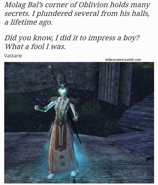 The Elder Scrolls Online - Vastarie and the folly of trying to impress ...