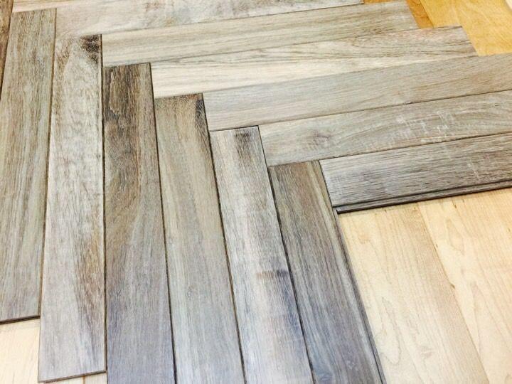 アジアン・ウォルナットのヘリンボーン無垢フローリング | WOODS TODAY #Walnut #Herringbone #Flooring