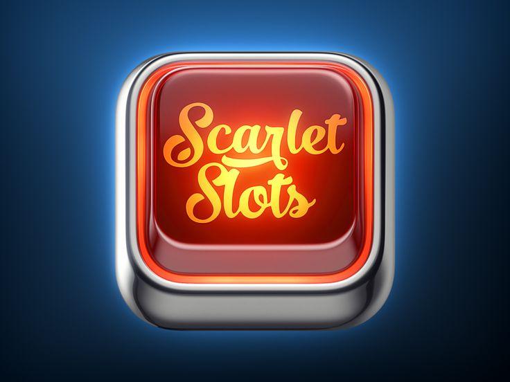 Scarlet Slots Icon by Vyacheslav Abushkevich