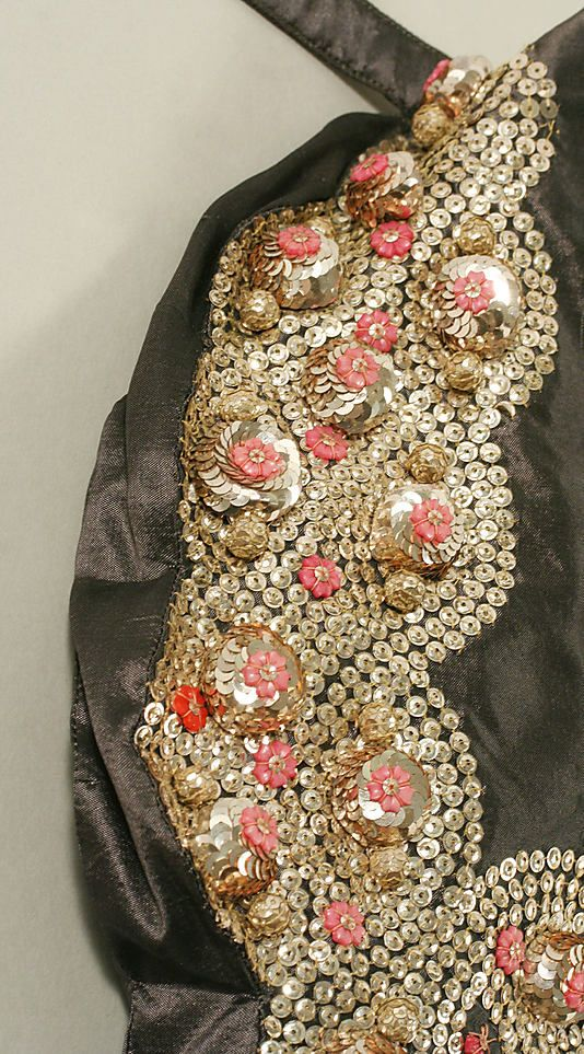 Sequin work, 1939 Cyclone evening dress by Jeanne Lanvin