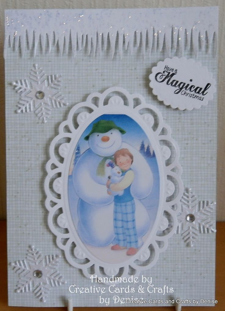 Image from Snowman & Snowdog CD by Crafters Companion. Die'sire Dies from Crafters Companion.