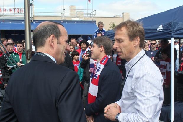 USMNT Coach Klinsmann @ First Kick in DallasUsmnt Coaches, Coaches Klinsmann