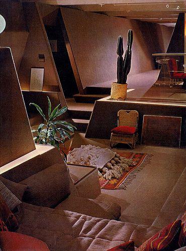 Paul Rudolph's astounding Strutin residence | conversation pit / sunken living room