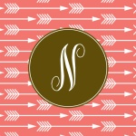 Free monogrammed iphone wallpapers.