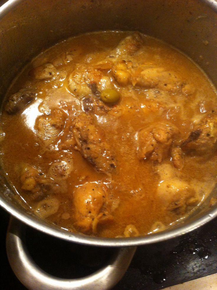 Yassa de poulet, cuisine africaine