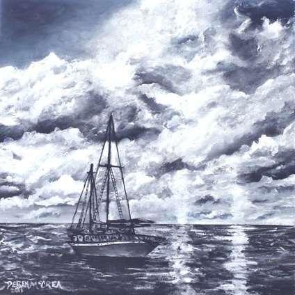 Sailboat, 2014 by Derek McCrea