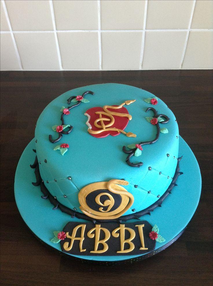 """Descendants"" cake for Abbi's birthday"