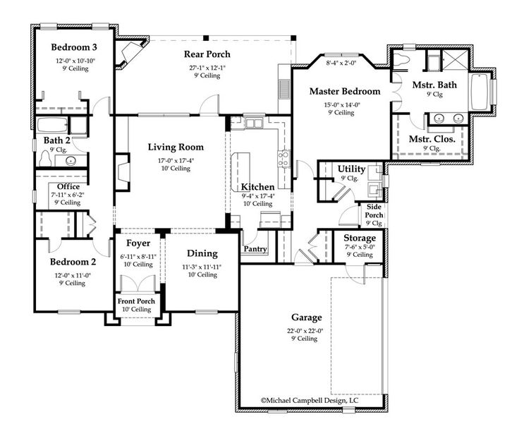 1000 images about house plans on pinterest house plans for French country house plans open floor plan
