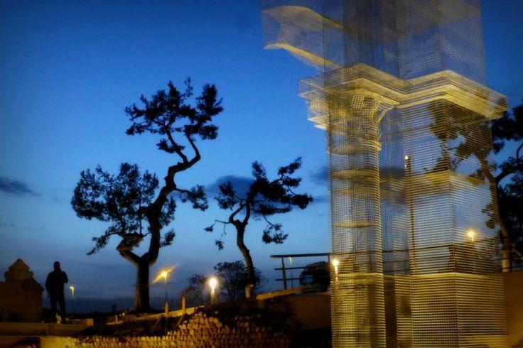 7_Linstallazione-di-Edoardo-Tresoldi-per-la-Basilica-paleocristiana-di-Siponto-©-Giacomo-Pepe-7