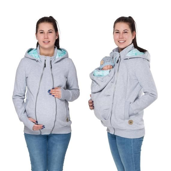 dac3fc5983d59 3 in 1 Cotton Kangaroo hoodie / jacket is made for carrying babies and  toddlers depending