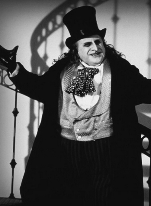 Danny DeVito as Penguin / Oswald Cobblepot - 'Batman Returns', 1992, directed by Tim Burton.