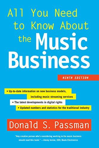 Mejores 118 imgenes de books en pinterest audio informal y all you need to know about the music business ninth edition by donald s malvernweather Image collections
