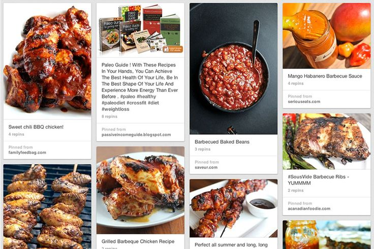 Barbecue Recipes, via the Official Pinterest Blog