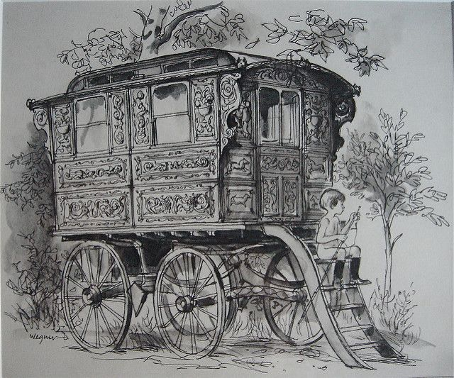 All types of Showman's Wagons and Living Vans