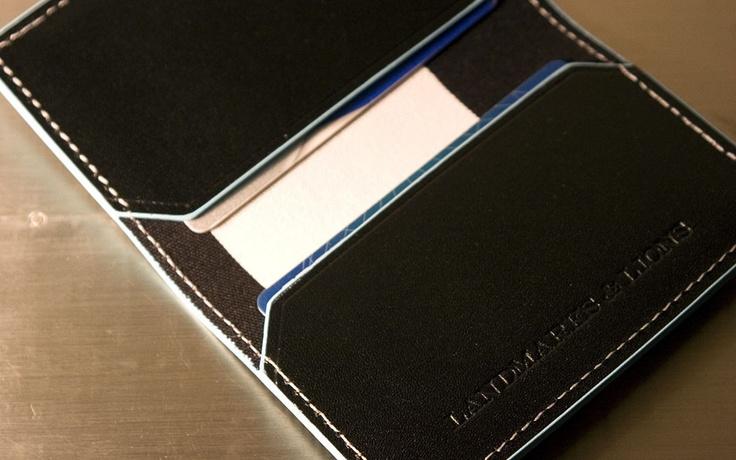 F/W 2012 Landmarks & Lions - Quantum Folded Card Case