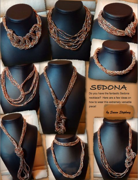 Sedona necklace by Premier Designs.  Wear it a different way each day for over a week!