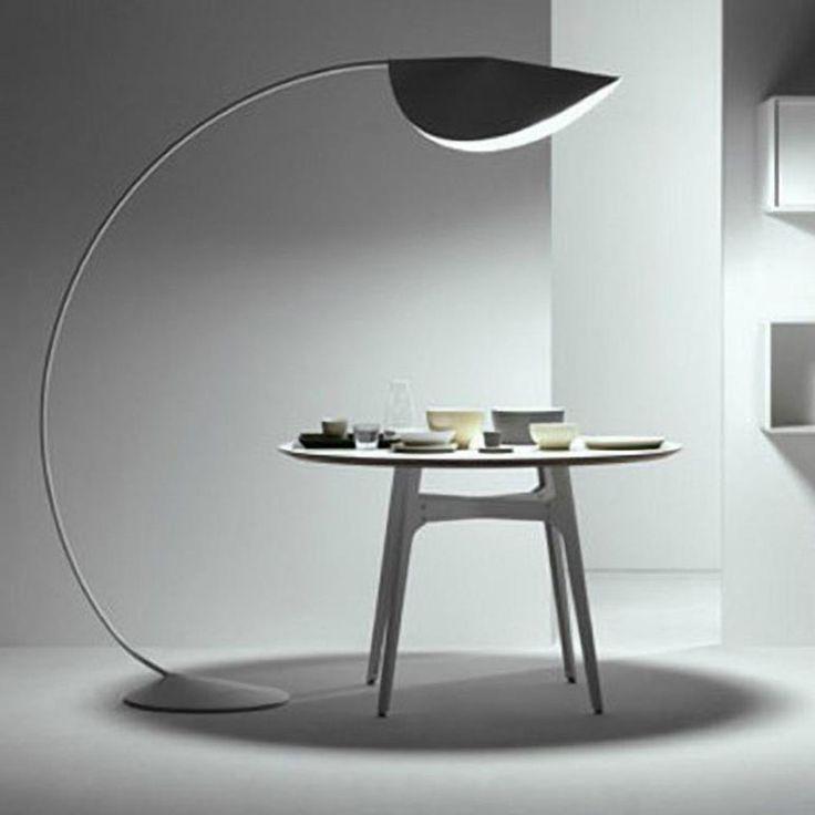 Lampade Piantane Design. Good Lampade Da Terra Con Doppia Luce Edi ...