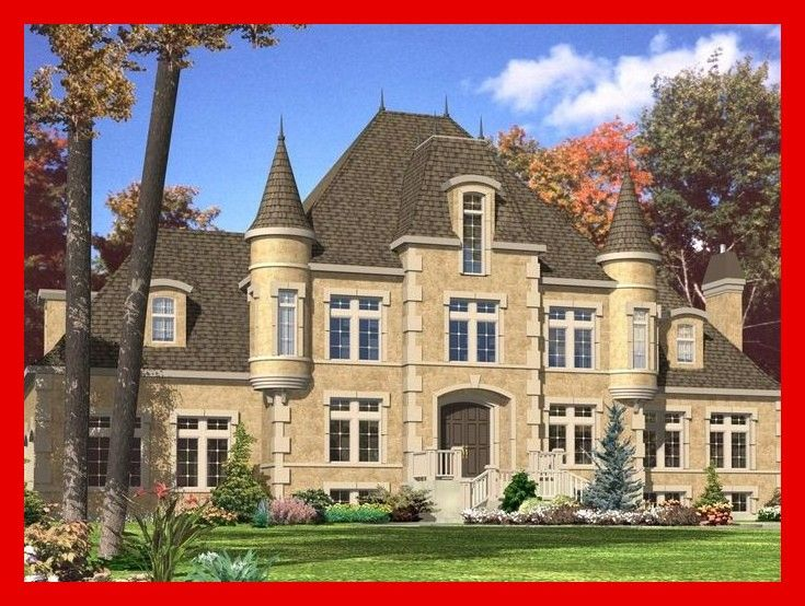 More Than 15 Bed French Chateau House Plan Pd Architectural Designs 4 Bed French Chateau Castle House Plans Country Style House Plans Luxury House Plans
