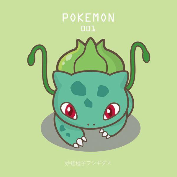 pokemon by 胡 锶靓, via Behance