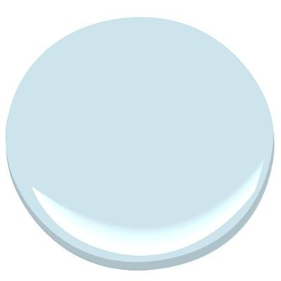 Benjamin Moore: Mystical Blue - 792 (Great Haint Porch Ceiling Blue)