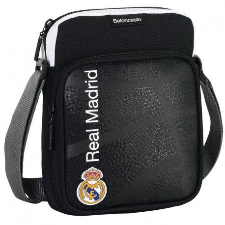 BOLSO BANDOLERA BASKET DEL REAL MADRID