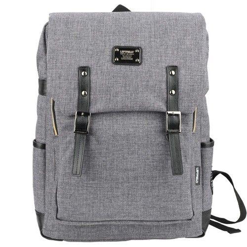 Canvas Backpack Men Best Laptop Backpacks College Bags LEFTFIELD 088