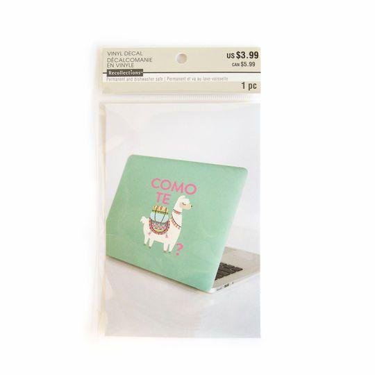 Como Te Llama Vinyl Decal Sticker By Recollections