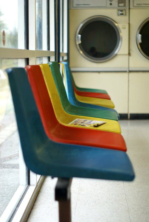 Recently Submitted To Our Photo Group By Sfgirlbybay Victoria Smith (AKA  SFGirlByBay ) Noticed, As I Have, That Laundromats Often Have The Coolest  Chairs.