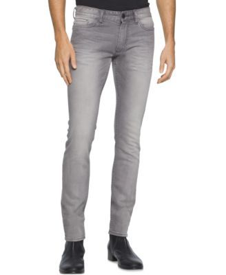 Calvin Klein Jeans Men's Slim Jeans $49.99 These straight-led jeans feature cool…