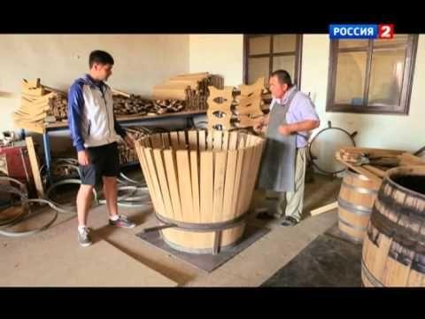 Как делают дубовые бочки на бондарне Фанагории