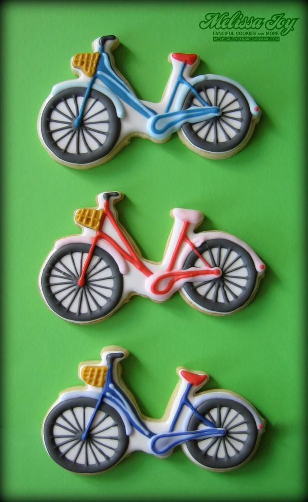 Bike Cookies by Melissa Joy