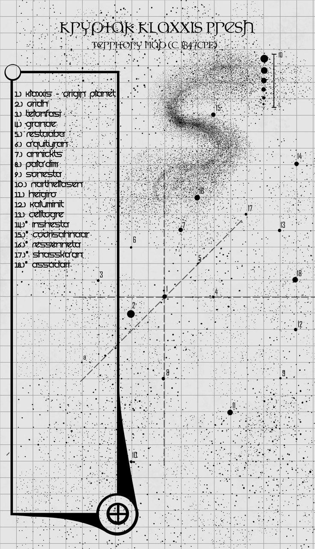 Final Map of Preshood Space by Nick Nestor