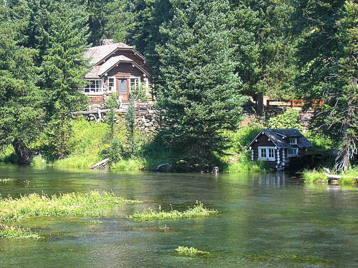 30 best images about island park idaho on pinterest for Big island cabins