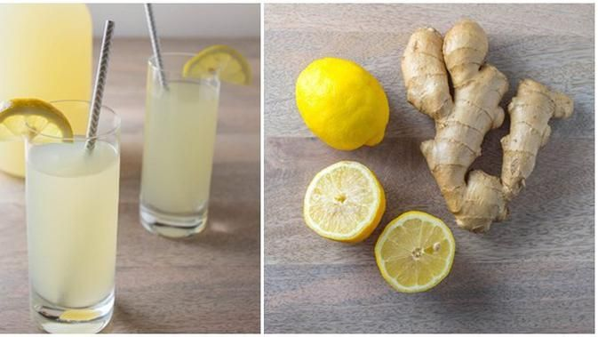 Resep Minuman Lemon Jahe Dengan Sensasi Rasa Yang Unik Resep Minuman Makanan Dan Minuman Resep Makanan Sehat