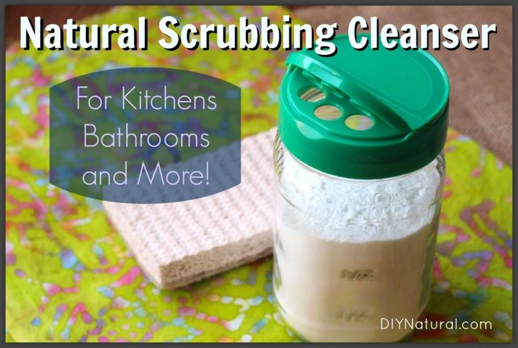 Homemade Cleaners For Tubs Tiles Grout Sinks Toilets and More – This homemade cleaning powder is a great scrubbing cleanser for tubs, tiles, grout, sinks, toilets and more. It's also all-natural and very inexpensive!