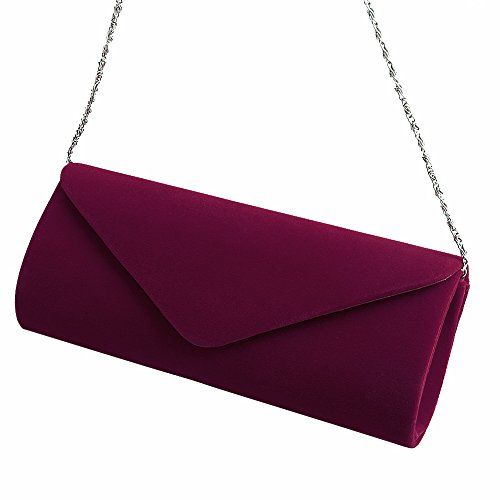 New Trending Tote Bags: Padoora Ladies Velvet Evening Clutch Handbag Chain Bag Formal Chain Shoulder Tote Purse (wine red). Padoora Ladies Velvet Evening Clutch Handbag Chain Bag Formal Chain Shoulder Tote Purse (wine red)  Special Offer: $8.69  300 Reviews Note:Please be sure purchase Padoora Clutch from FunnyDay store,Other are all fake.Features: High quality and Durable hardware buckle attached....