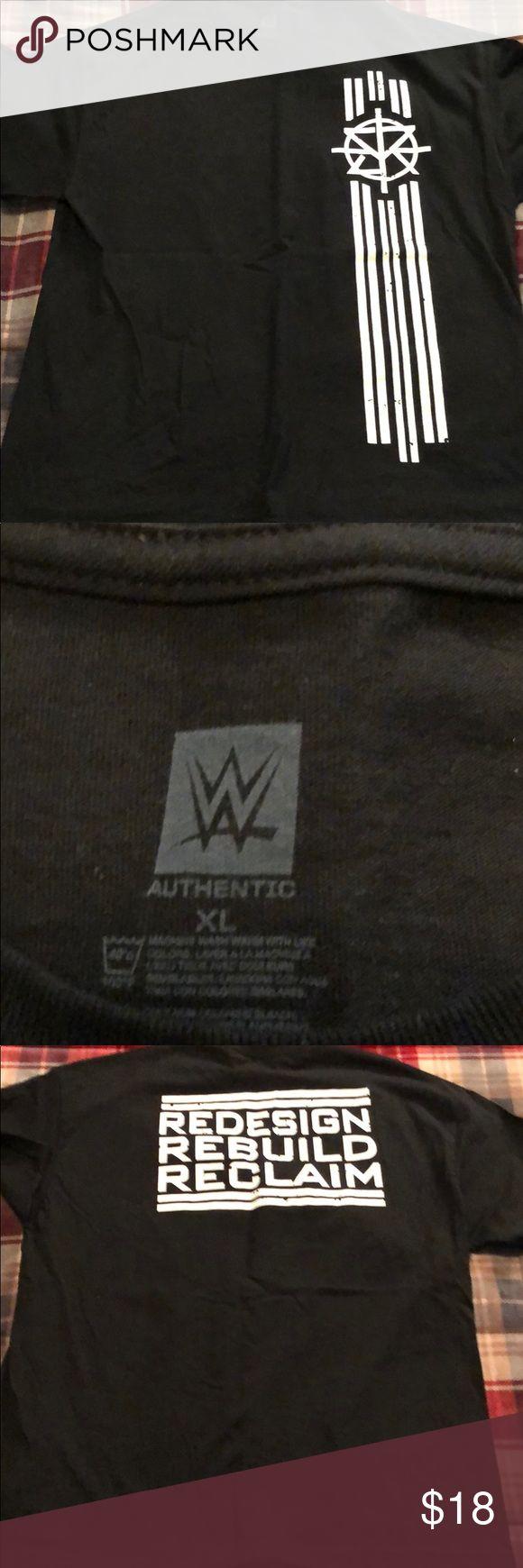 WWE Seth Rollins T-Shirt WWE Seth Rollins T-Shirt Size: XL Worn 1-2 times WWE Shirts Tees - Short Sleeve