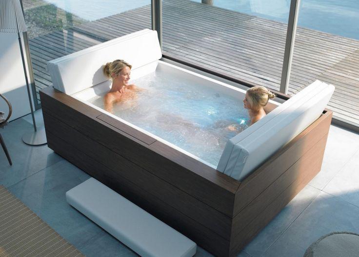 die besten 25+ eckbadewanne whirlpool ideen auf pinterest - Badezimmer Mit Whirlpool