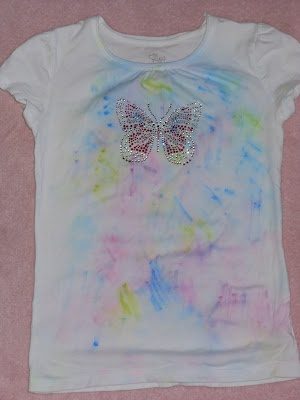 Tie Dying with Sharpies