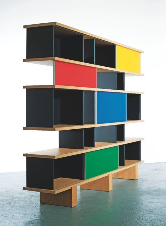 Bookshelf Nuage, By Charlotte Perriand (France). First Design In Then  Edited By Galerie Steph Simon (Paris), Today At Cassina (Italy).