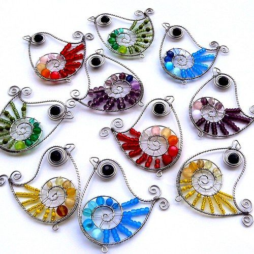 cute little wired birdies. A must try project !