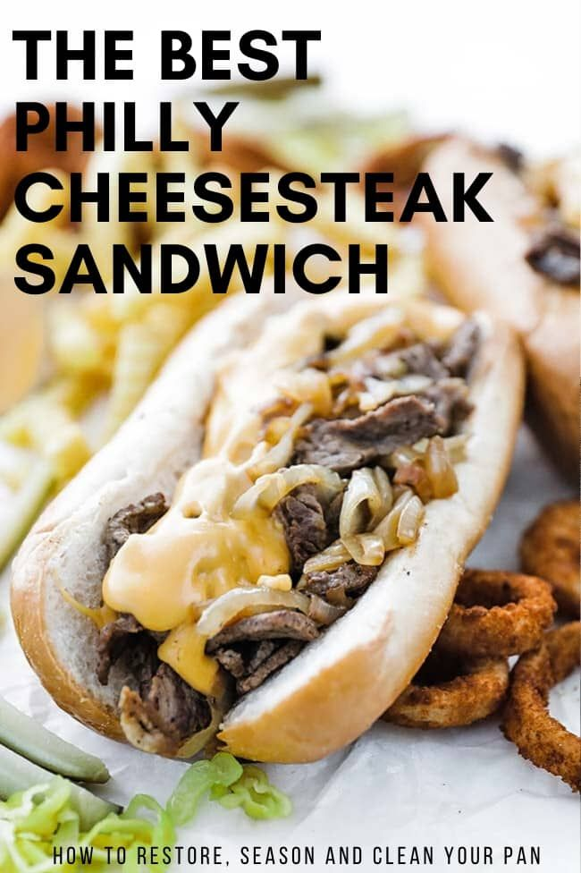 Best Philly Cheesesteak The Toasty Kitchen This Best Philly Cheesesteak Recipe Is Made With Ribeye Steak Bell Peppers Recipes Cooking Recipes Beef Recipes