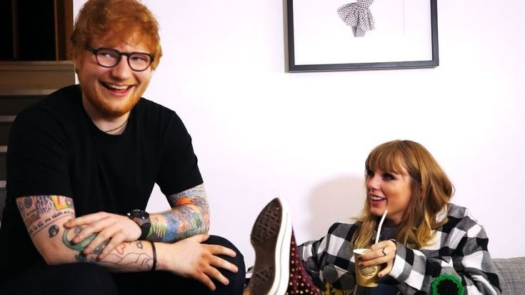 """Taylor Swift teases Ed Sheeran in new video: """"You're peacocking"""""""