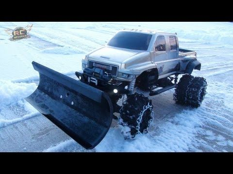 RC ADVENTURES - OVERKiLL SNOW PLOW! I watch this guys videos all the time on YouTube