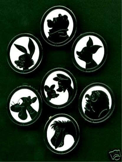 Disney pin silhouette collection - have this set