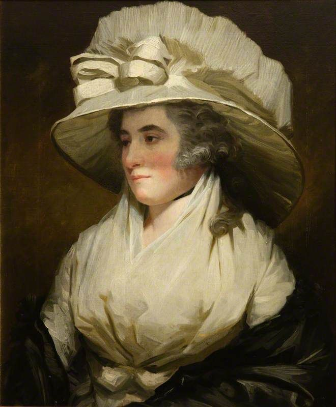 Sarah, Wife of Sir John Forbes, Daughter of John, 13th Lord Sempill, 1788,  by Henry Raeburn The National Trust for Scotland